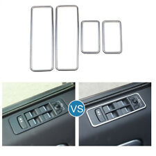Car Door Window Switch frame Cover Trim For Land Rover Discovery Sport 2015-2018