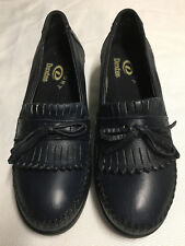 Dexter Loafers Black Leather Shoes Women's Size 6