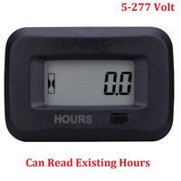 Searon Digital Hour meter of 12V 24V 36V 48V 110V 220V 230V AC/DC for ATV Lawn