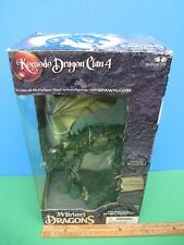 2006 McFarlane's KOMODO DRAGON CLAN 4 Deluxe Boxed Set MIB