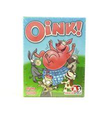 OINK! Kartenspiel Tierkarten AS Abacus Spiele Kinderspiel Familienspiel