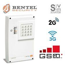 COMBINATORE TELEFONICO BENTEL BTEL-GSM 2G/3G VOCALE SMS 4 CANALI ALLARME