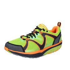 scarpe uomo MBT SABRA TRAIL 42 EU sneakers verde tessuto dynamic BX901-42