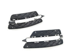 New Genuine Mercedes Benz C Class W504 AMG 2012 Set Of Front Bumper Lower Grills