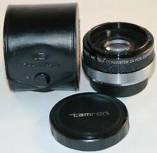 Tamron MC Tele Converter Lens 2x for Canon FD