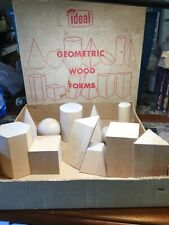 Vintage IDEAL Geometric Wood Forms Ideal School Supply Co. No. 854 - Missing One