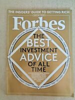 Forbes Magazine Best Investment Advice 2014 Icahn Buffet Floyd Mayweather Money