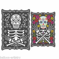 Halloween Muertos Day Of The Dead Lenticular Wall Sign Party Decoration