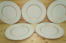 Society Golden Classic (5) Dinner Plates, 10 1/2""