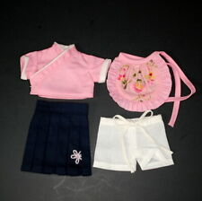 Ruby Red Galleria Ten Ping Outfit Top Skirt Apron Shorts Rare Htf Doll