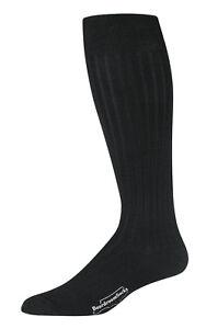 Boardroom Socks Men's Merino Wool Over the Calf Dress Socks - Knit in USA