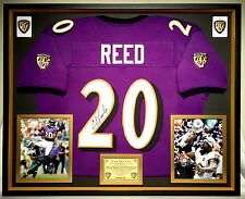 Player  Ray Lewis. Premium Framed Ed Reed Autographed   Signed Baltimore Ravens  Jersey - JSA COA 0ef0d5f2c
