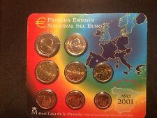 Muntset Spanje 2001 BU