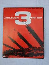WORLD WAR THREE (WWIII ) 1976 - 1984 by Simulations Publications Inc 1975 issue