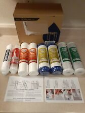 iSpring F9K 1-Year Replacement Supply Filter Cartridge Pack Set READ DESCRIPTION