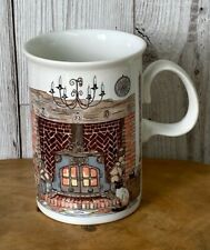Dunoon 'Fireplaces' A Design By Sue Scullard Stoneware Cup Cat Mug
