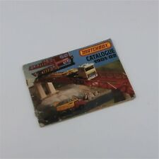 Matchbox Lesney Catalogue 1981-1982 Blue Cover Retail Store Display Superfast