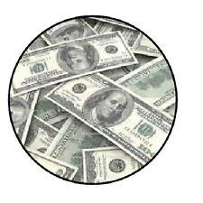 """48 Money!!!  ENVELOPE SEALS LABELS STICKERS 1.2"""" ROUND"""