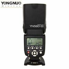 Yongnuo YN560 III Auslöser Blitzgerät Slaveblitz Flash für Canon DSLR Kamera DE