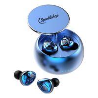 Bluetooth 5.0 Kopfhörer in Ear Headset Noise Cancelling Wasserdicht IPX7 500mAh