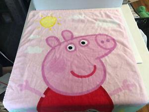 Peppa Pig Beach/Bath Towel 4x2 PBS Kids Show