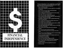 FINANCIAL INDEPENDENCE BY EDDIE SOLOMON - GUIDE TO FISCAL FREEDOM  FREE SHIPPING