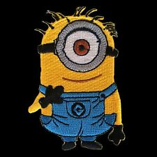 Despicable Me Minion Banana Cartoon Comic Patch Embroidered Sew Iron On #3