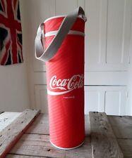 Vintage Coca Cola Coke Cooler Bag - Picnic Camping Camper Van - Bottle  Cans