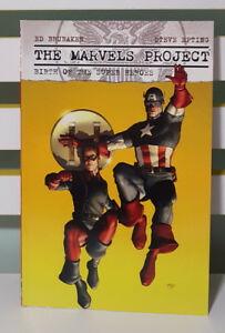 THE MARVELS PROJECT; BIRTH OF THE SUPER HEROES! GRAPHIC NOVEL / COMIC BOOK!