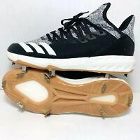 Adidas Icon 4 Primeknit PK SolidBottom Baseball Metal Cleats Men's Size 9 F36439
