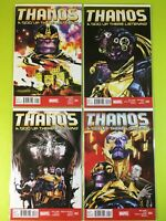 Thanos: A God Up There Listening 1-4 2 3 Marvel NM 9.4