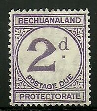 Album Treasures Bechuanaland Prot Scott # J6  2p Postage Due MH