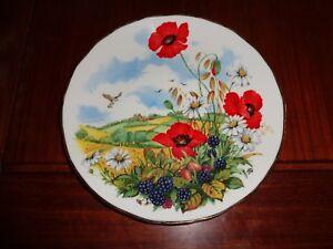 Royal Albert Collector Plate AUTUMN A SEASON OF MISTS AND MELLOW FRUITFULNESS