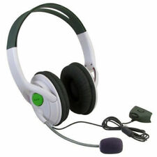 UK NEW DELUXE HEADSET HEADPHONE WITH MIC MICROPHONE FOR XBOX 360 LIVE