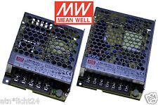 MW Mean Well Netzteil 230V AC ~ 12V DC Trafo für LED RGB 50W & 100W Power Supply