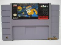 Virtual Bart - Super Nintendo SNES Game Cartridge Only