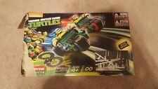 Teenage Mutant Ninja Turtles CARRERA Slot Car Racing System - EUC - WORKS!!!