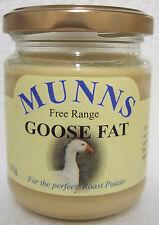 18 x 150g JARS OF MUNNS FREE RANGE GOOSE FAT  FOR CRISPY ROASTIES