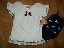 JUICY COUTURE Beach Baby 1 Pc Bathing Suit & Cover Up SET Size 6 - 12 Months NEW