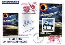 5296+ CONCORDE 30 ANS ANNIVERSAIRE 1er VOL  MILLENIUM  BLOC MADAGASKIRA NON DENT