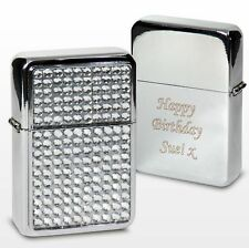Personalised Diamante Lighter-Free Laser Engraving- Mother's Day, Birthdays