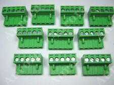 Set of 10 / 5 pin - 5.08mm /  Pluggable Connector -Terminal Block -Phoenix Plug