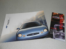 1999 FORD TAURUS 22-p. SALES CATALOG + 5-STAR SAFETY RATING BROCHURE, 2 for 1