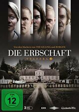 3 DVDs * DIE ERBSCHAFT - STAFFEL / SEASON 2 # NEU OVP +