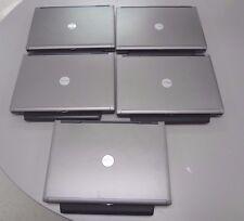Lot of  5 Dell Latitude D630 Intel Core 2 Duo 2.0GHz, 2GB Ram, NO HD W/ BATTERY