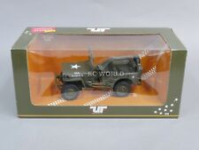 UT Models 1/18 MILITARY JEEP WILLYS Die Cast Truck  #rk1