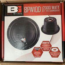Bass Inferno BPW10D 10-Inch 2000 Watts 4-OHM DVC Subwoofer