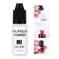 NEE JOLIE 10ml Nail Polish Thinner Moisturizing Nails Varnish Nail Art Tools