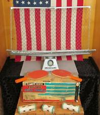 Vintage Marx Toys Electric Table Tennis Ping Pong Serve/Return Machine Practice