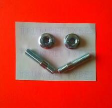 APRILIA HABANA RETRO 50 6MM M6 Exhaust Studs & Nuts Set Part ve13017 vn30501